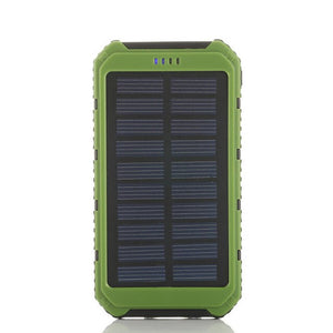 Power Bank 5000mAh Solar Powerbank Extreme Mobile Phone Pack With LED External Battery