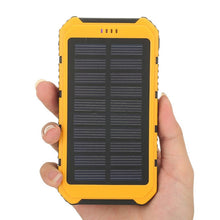 Load image into Gallery viewer, Power Bank 5000mAh Solar Powerbank Extreme Mobile Phone Pack With LED External Battery