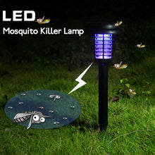 Load image into Gallery viewer, Solar Powered Insect Killer LED UV Mosquito Killer Lamp with Solar Power LED Garden Lights