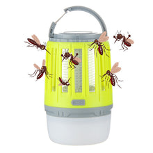 Load image into Gallery viewer, USB Charging Mosquito Killer Trap LED Night Light Lamp Bug Insect Lights Killing Pest Repeller Camping Light