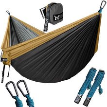 Load image into Gallery viewer, Upgrade Camping Hammock Outdoor Tourist Hanging Hammocks Portable Parachute Nylon Hiking Hammock