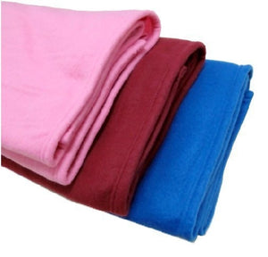 Warm Fleece Blanket with Sleeve Throws on Sofa/Bed/Plane Travel Blanket