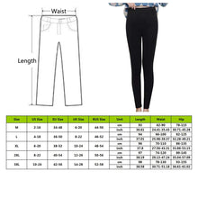 Load image into Gallery viewer, Winter Warm Pants women's Plus Velvet Thicken Leggings Skinny Casual Ankle-Length Leggings