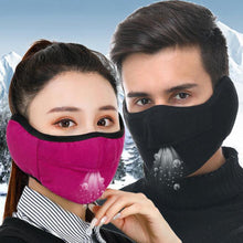 Load image into Gallery viewer, Unisex Winter Two-in-one Earmuffs Warm Mask