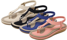 Load image into Gallery viewer, Summer Flat Shoes Comfortable Bohemian Large Size Sandals