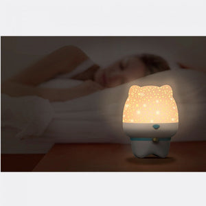 Cute pet projection lamp