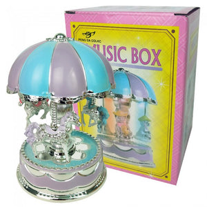 Carousel Light Music Box