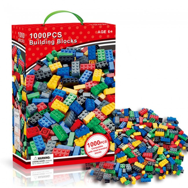 1000 PCS DIY Kids Building Blocks Toys