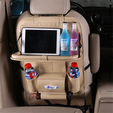 Load image into Gallery viewer, Car Seat Back Organizer Storage Bag
