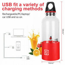 Load image into Gallery viewer, Portable Juice Maker USB Rechargeable