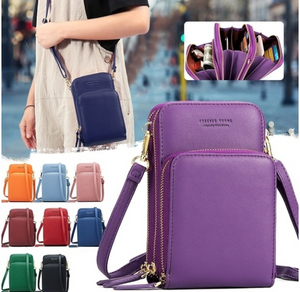 Mini Women Shoulder Bag Phone Wallet Crossbody Bag
