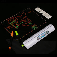 Load image into Gallery viewer, Drawing Board 3D Glasses Led Lamp Holder