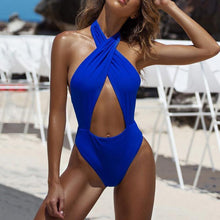 Load image into Gallery viewer, 2018 Sexy Backless Bandage One-Piece
