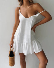 Load image into Gallery viewer, Fashion Sexy Strap V-Neck Halter Dress