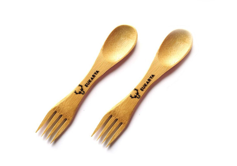 Moso Bamboo Utensils (pair)