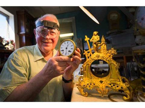 Ray Saunders French Ormolu Clock Vancouver Sun May 13 2019