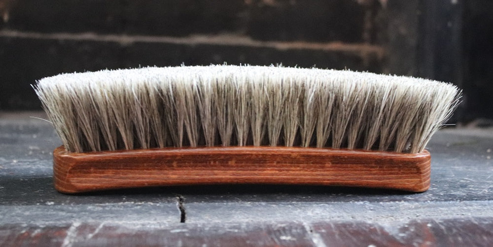 Large Potter & Sons Horsehair Brush