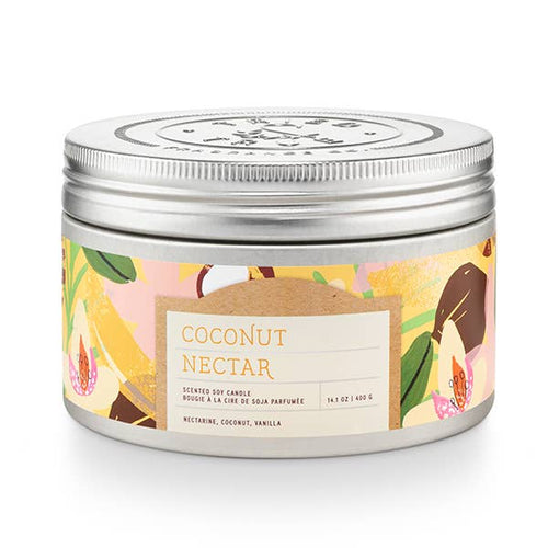 Coconut Nectar Tin Candle