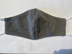 Heather Gray Knit Mask