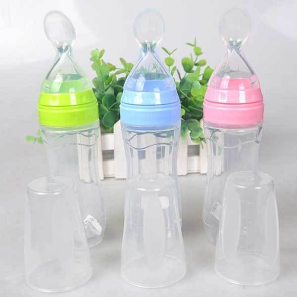 Infant Newborn Squeeze Bottle Spoon No Mess We Have Won Praise From Customers Feeding