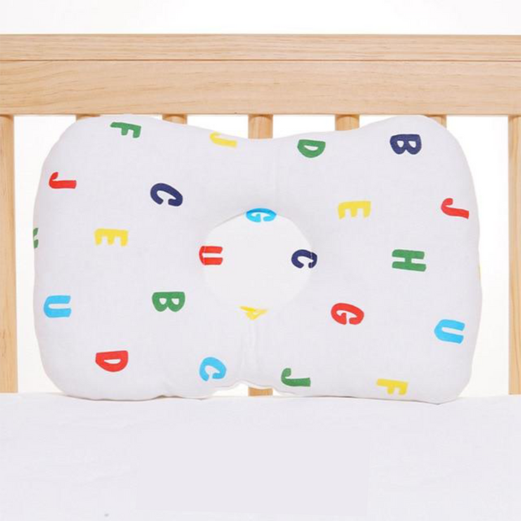 Anti Roll & Flat Head Baby Protection Pillow