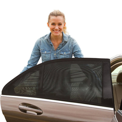 UV Protective Slip-On Car Shades (2 Pack)
