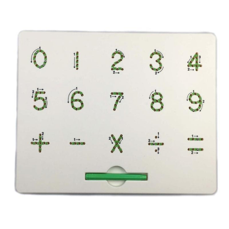 Letters & Numbers Magnetic Drawing Board