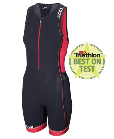 HUUB Core Triathlon Suit - Womens Black/Red
