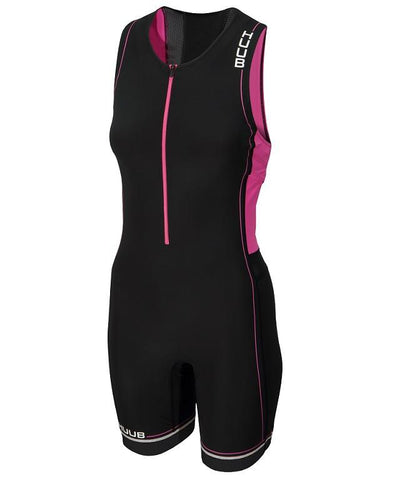 HUUB Core Triathlon Suit - Womens Black/Pink