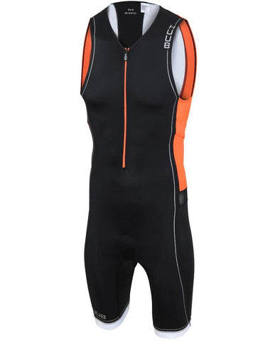 HUUB Core Triathlon Suit - Mens Black/Orange/White