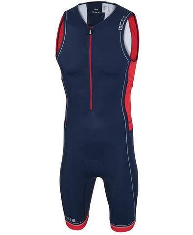 HUUB Core Triathlon Suit - Mens Navy/Red/White