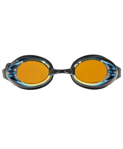 HUUB Varga Race Goggle - Black with Gold Mirror