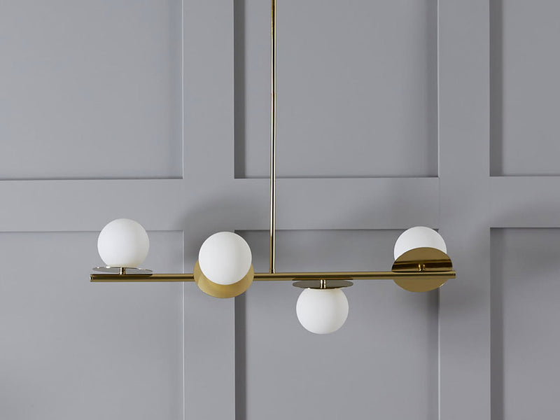 Product focus - opal disk ceiling light.