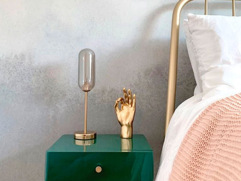 product: the pill table lamp