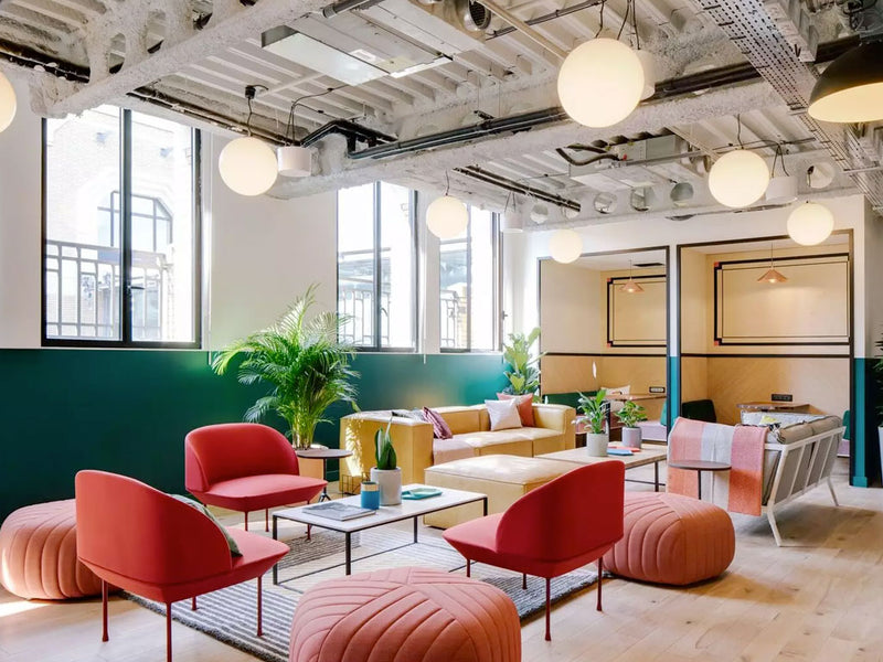 Inspiration - co-working spaces.