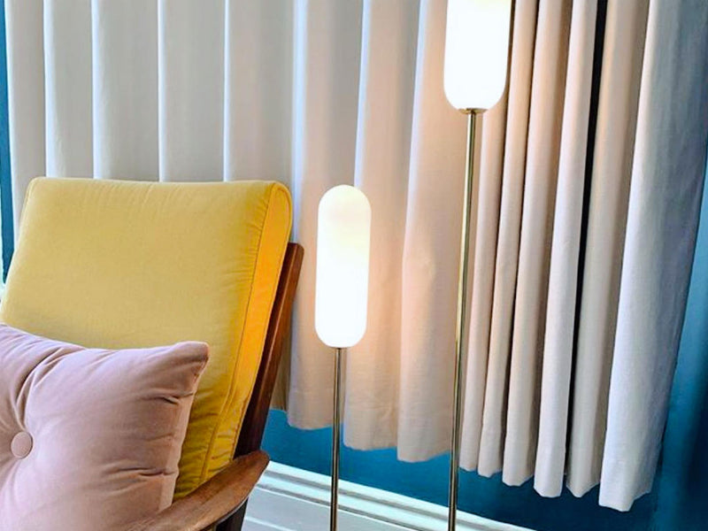 Tutorial - the perfect living room floor lamps.
