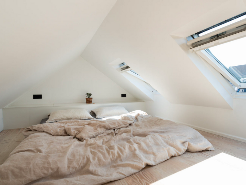 houseof - sloped ceiling - small spaces - sacha barna - the modern house
