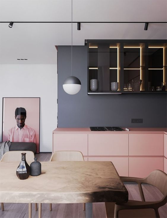 grey and pink inspirtion | houseof.com