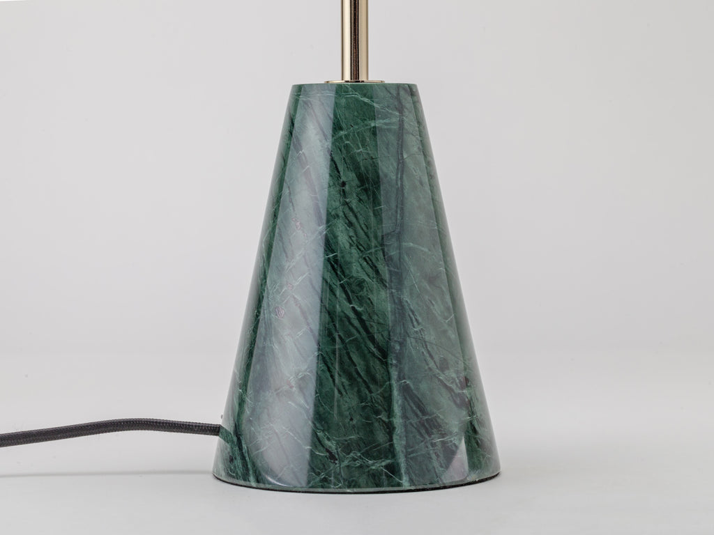 Cone marble table lamp | green | houseof