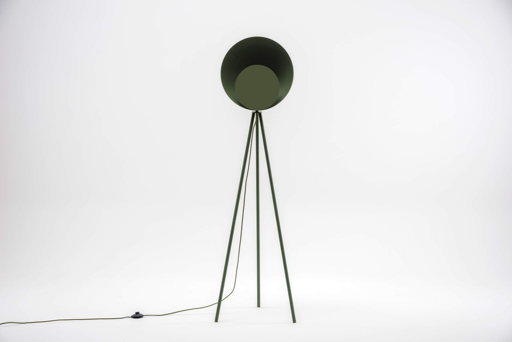 Diffuser floor lamp, olive, houseof