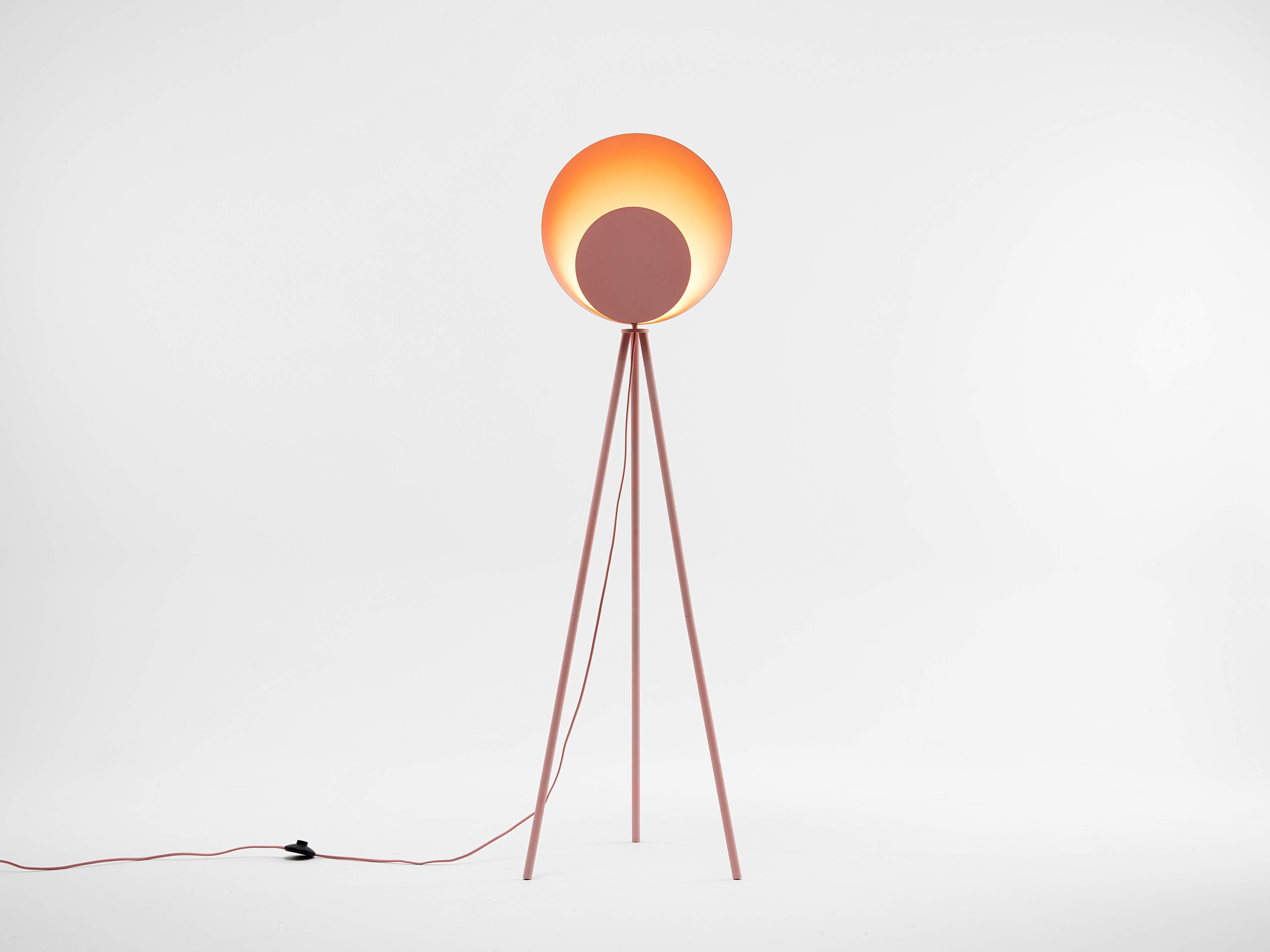 diffuser floor lamp | pink | houseof.com | living room floor lamp