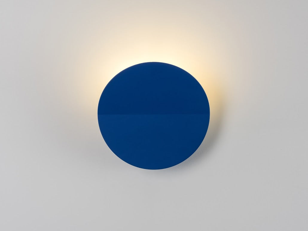 Round diffused wall light | classic blue | houseof.com