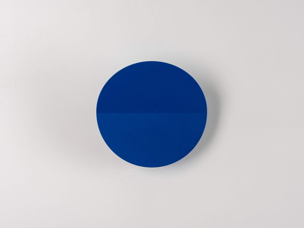 Round diffused wall light | blue | houseof