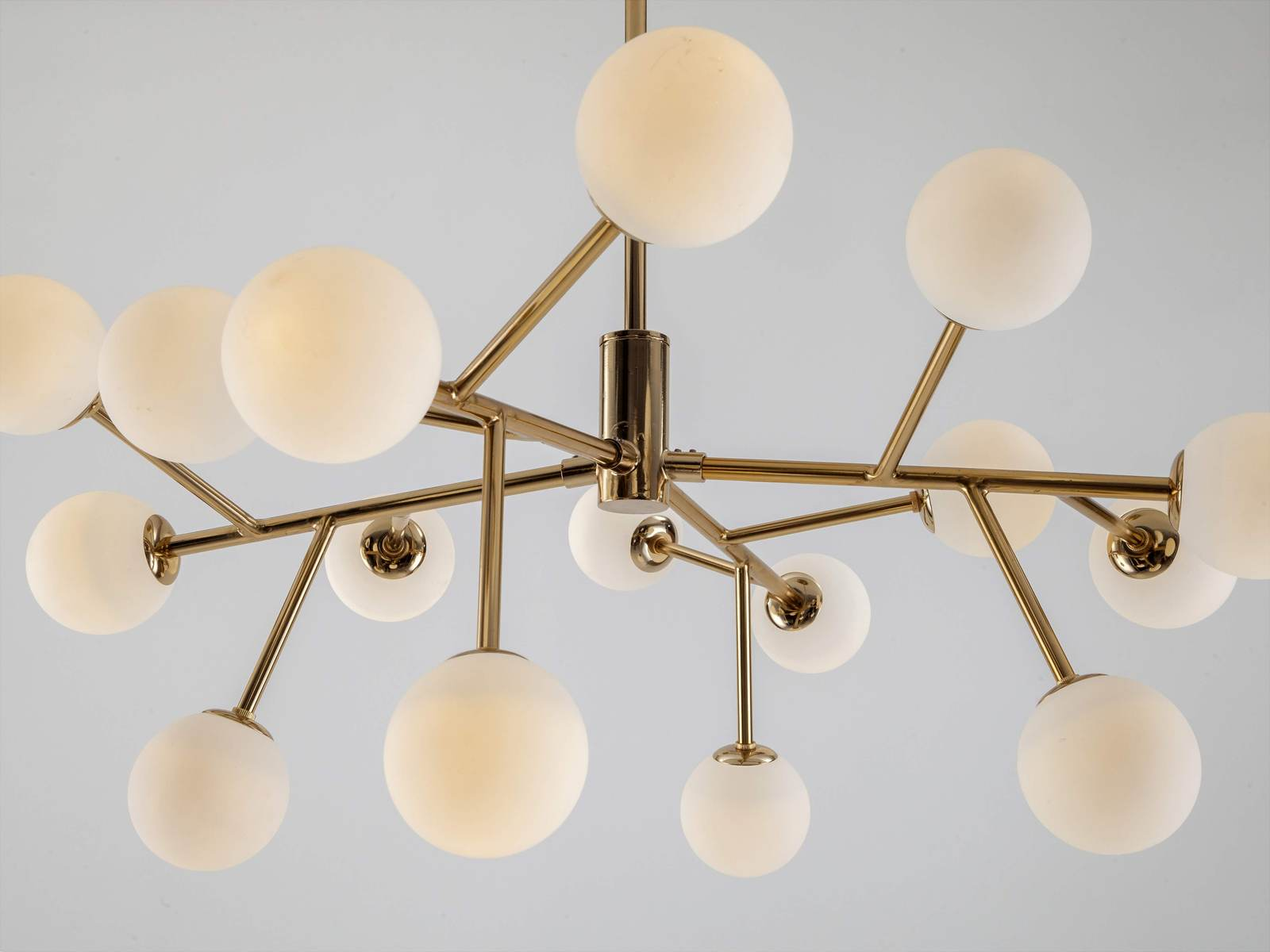 Sputnik ceiling light | brass | houseof.com