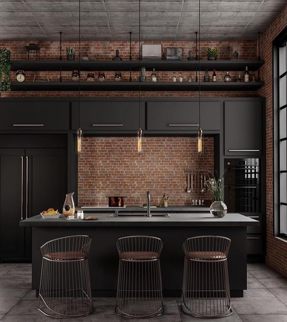 industrial kitchen | houseof.com