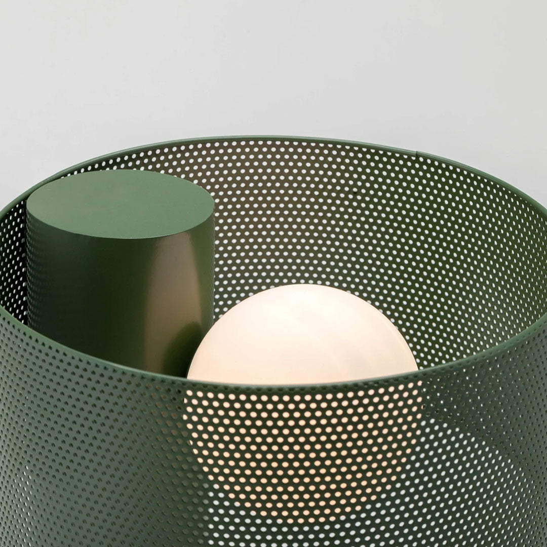 Mesh table lamp | houseof | Olive