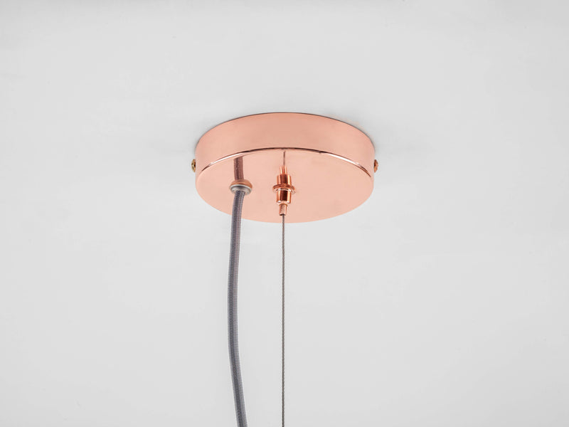 8 Light pill chandelier copper | ceiling | houseof.com