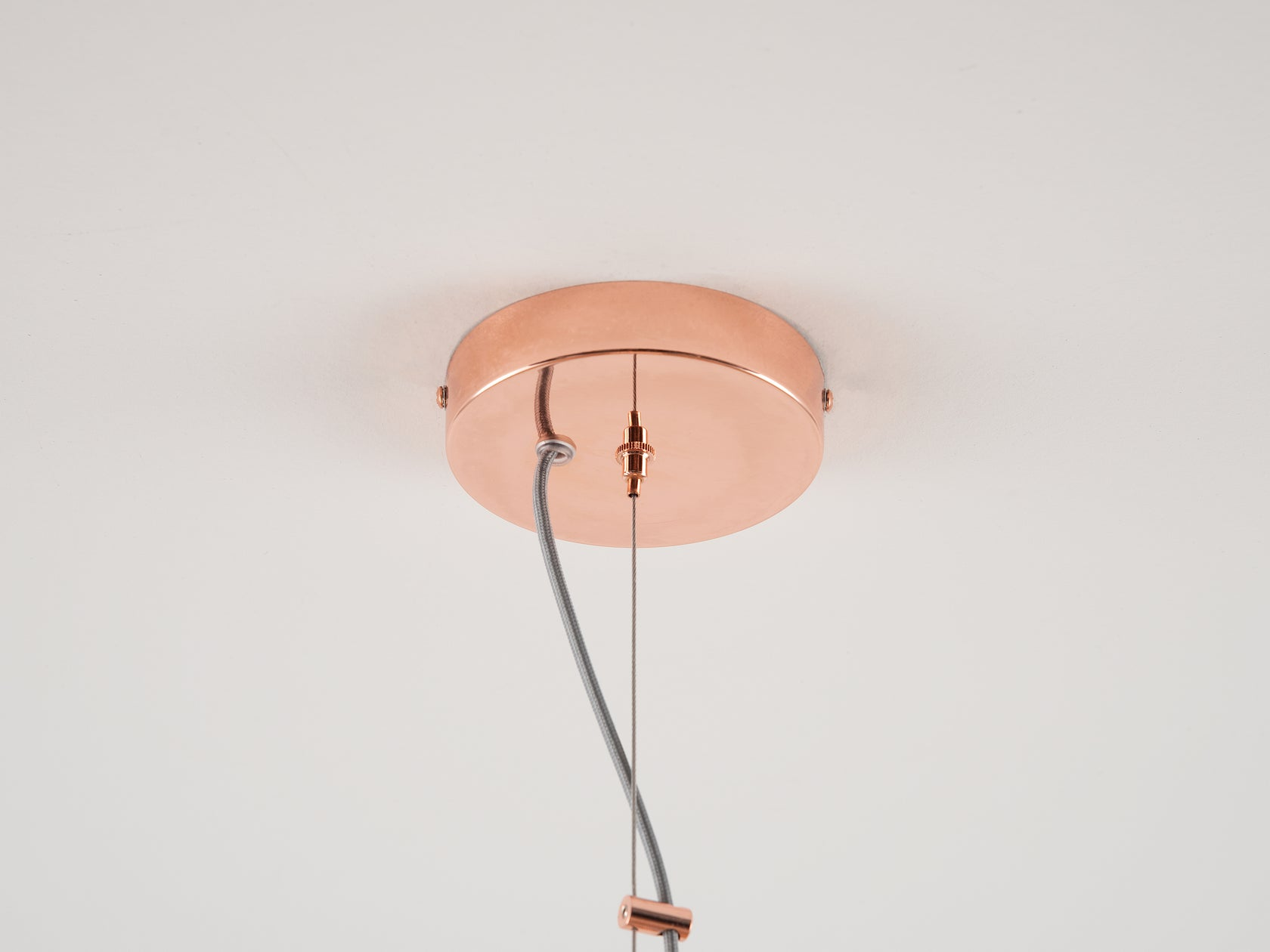 Cage pendant ceiling light copper | cup | houseof.com