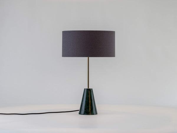 Marble table lamp green marble | on | houseof.com