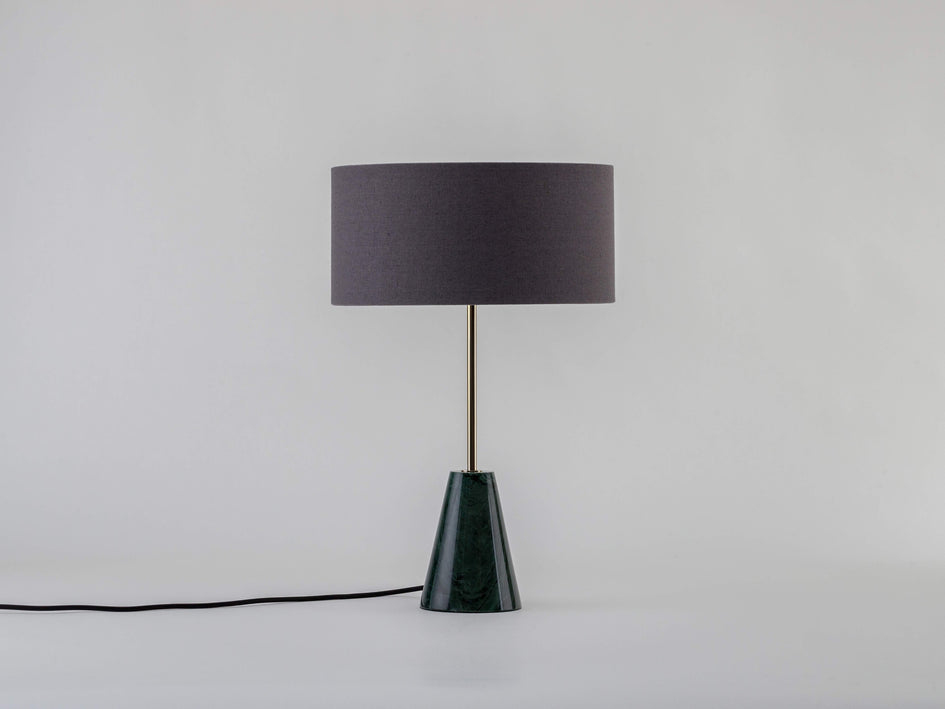 Marble table lamp green marble | off | houseof.com